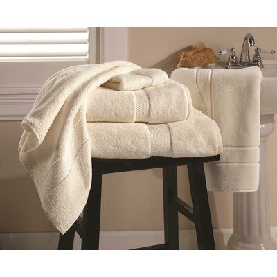 Mesa 6 Piece Towel Set Color: Cream