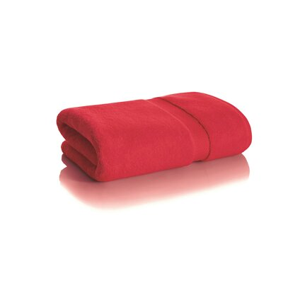 Shakira Bath Towel Color: Cherry