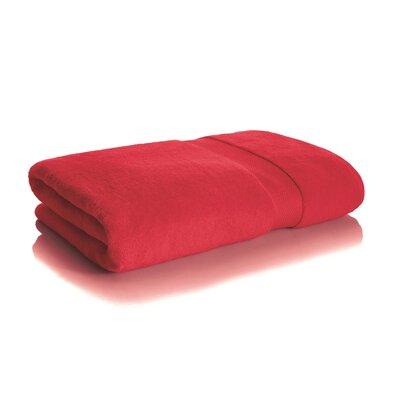 Mesa Bath Sheet Color: Cherry