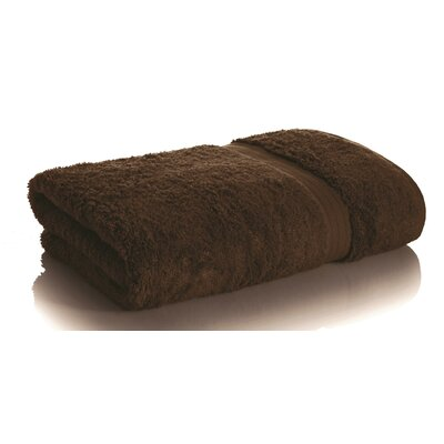Bamboo Rayon Bath Towel Color: Dark Chocolate