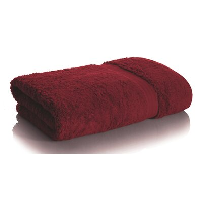 Rayon from Bamboo Bath Towel Color: Bordeaux