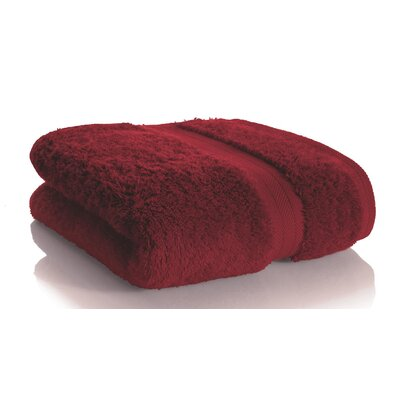 Rayon from Bamboo Hand towel Color: Bordeaux