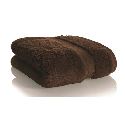 Rayon from Bamboo Hand towel Color: Dark Chocolate