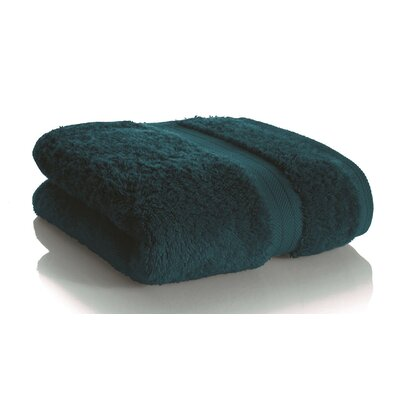 Rayon from Bamboo Hand towel Color: Deep Teal