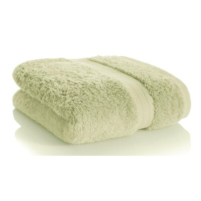Rayon from Bamboo Hand towel Color: Light Green