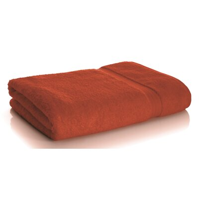 Rayon from Bamboo Bath Sheets Color: Pumpkin