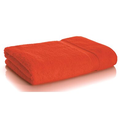 Rayon from Bamboo Bath Sheets Color: Blood Orange