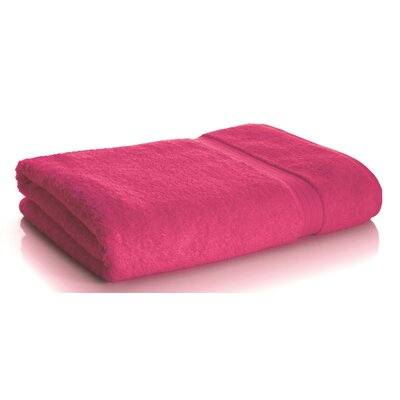 Rayon from Bamboo Bath Sheets Color: Pink Flamingo