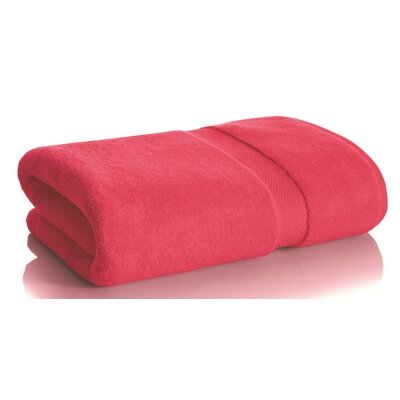 Mesa Bath Towel Color: Raspberry