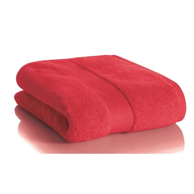 Mesa Hand Towel Color: Cherry