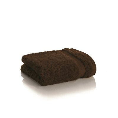 Rayon from Bamboo Washcloth Color: Dark Chocolate