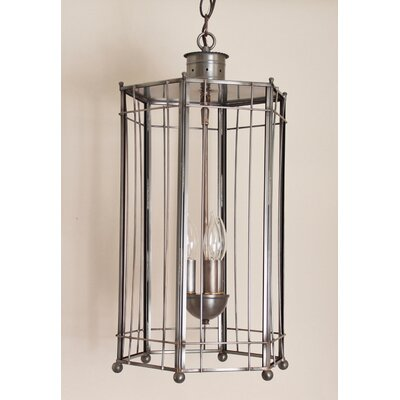 Chearsley Coastal 3-Light Foyer Pendant Finish: Gun Metal