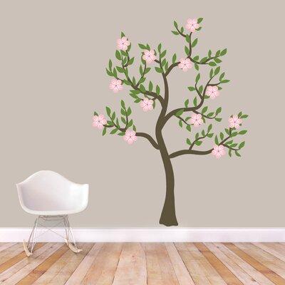 "Flower Tree Wall Decal Size: 72"" H x 54"" W 2518-54x72"