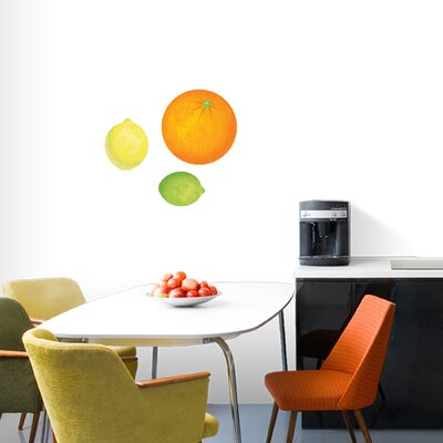 Orange, Lemon, Lime Printed Wall Decal Size: Small 2031SM