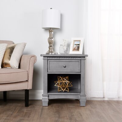 Santa Fe Nightstand Color: Storm Grey
