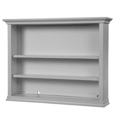 Napoli 29.5 H x 62 W Desk Hutch Finish: Dove Gray