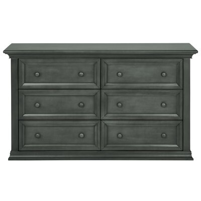 Napoli 6 Drawer Double Dresser