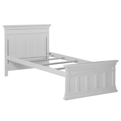 Napoli Twin Panel Bed with Bed Rail