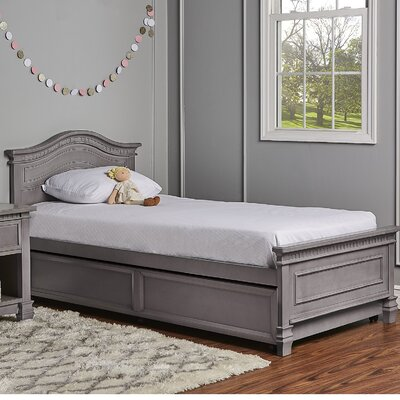 Cheyenne Twin Panel Bed with Bed Rail