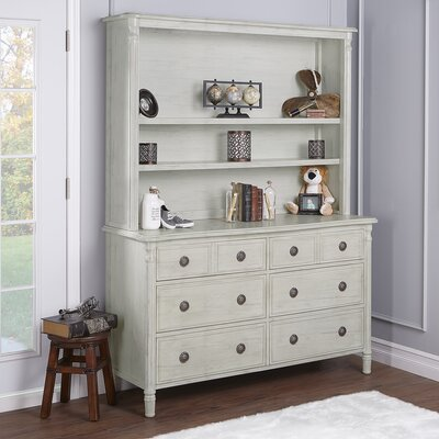 Julienne Hutch Finish: Antique Mist Grey