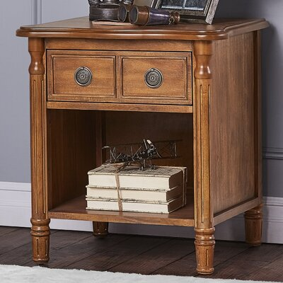 Julienne 1 Drawer Nightstand Finish: Weather Natural