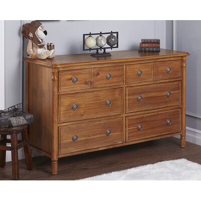 Julienne 6 Drawer Double Dresser Finish: Weather Natural