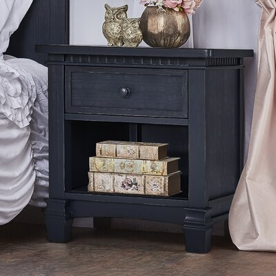 Cheyenne and Santa Fe 1 Drawer Nightstand