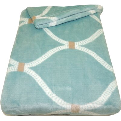 Link Velvet Plush Throw Blanket Color: Baby Light Blue