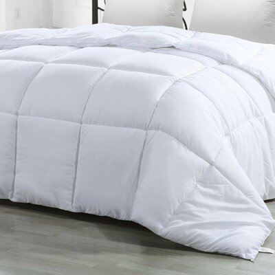 Goose Down Alternative Comforter Size: King/California King