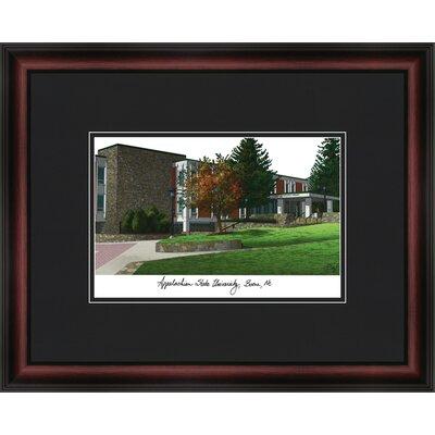 NCAA Academy Academic Lithograph Framed Photographic Print NCAA Team: Appalachian State Mountaineers