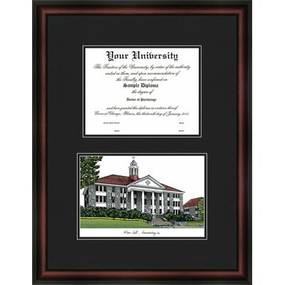 NCAA Diplomate Diploma Picture Frame -  Campus Images, VA994D