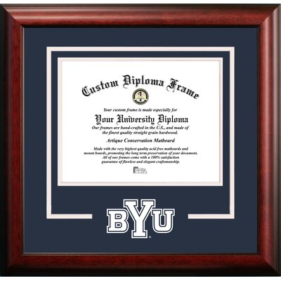 NCAA Brigham Young University Cougars Spirit Diploma Picture Frame UT994SD