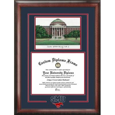 NCAA SMU Mustangs Spirit Graduate Picture Frame