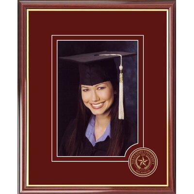 NCAA Texas State University Graduate Portrait Picture Frame