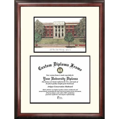 NCAA Syracuse University Graduate Portrait Picture Frame