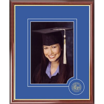 NCAA Kansas University Graduate Portrait Picture Frame