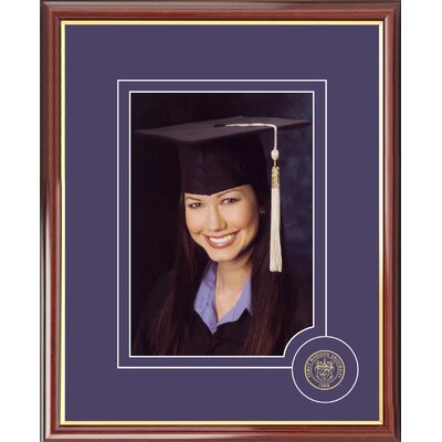 NCAA Images James Madison University Graduate Portrait Picture Frame