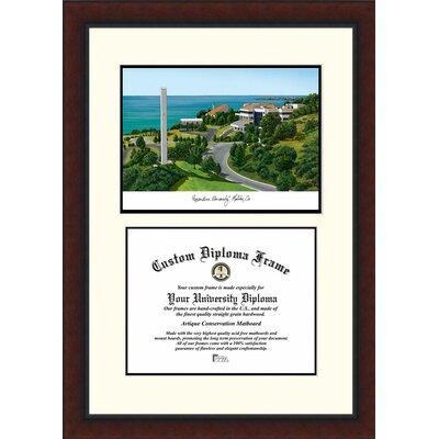 NCAA Pepperdine University Legacy Scholar Diploma Picture Frame