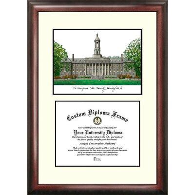 NCAA Penn State University Scholar Diploma Picture Frame