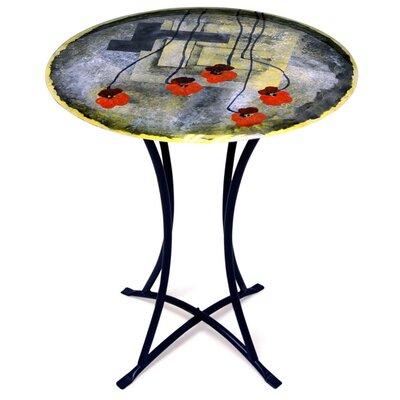 Fused Art End Table