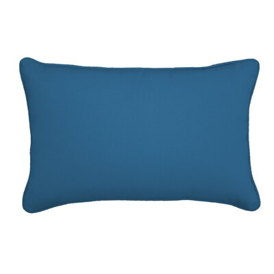 Outdoor Lumbar Pillow Size: 12 H x 18 W, Color: Canvas Regatta