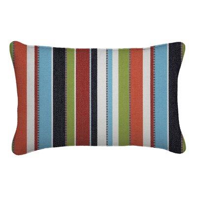 Outdoor Sunbrella Lumbar Pillow Height: 13, Width: 21