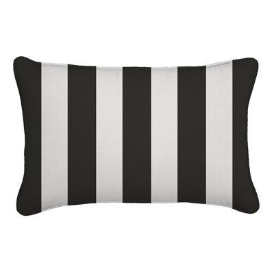 Outdoor Lumbar Pillow Fabric: Cabana Classic, Width: 12, Depth: 18