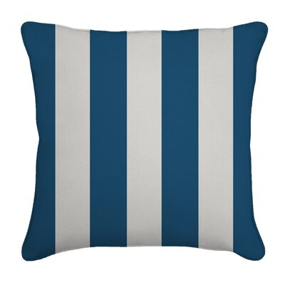 Outdoor Throw Pillow Color: Cabana Regatta, Width: 18, Height: 18