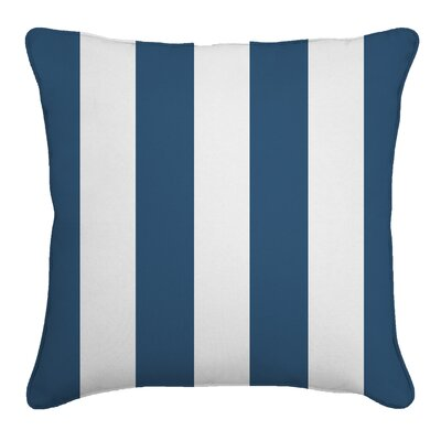 Outdoor Throw Pillow Color: Finnigan Indigo, Height: 22, Width: 22