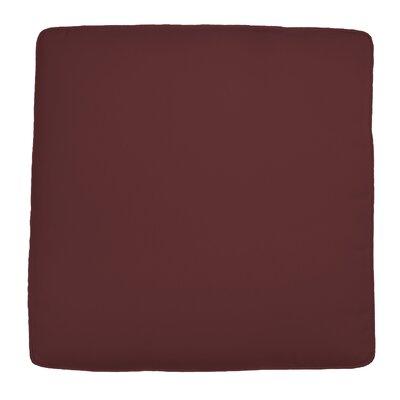 Wayfair Custom Outdoor Cushions Outdoor Knife-Edge Ottoman Cushion - Width: 25