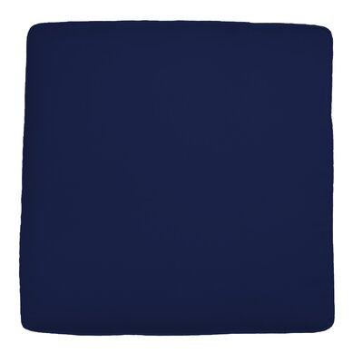 Wayfair Custom Outdoor Cushions Outdoor Knife-Edge Ottoman Cushion - Depth: 24