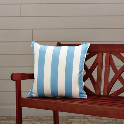Outdoor Throw Pillow Color: Finnigan Oceana, Height: 18, Width: 18