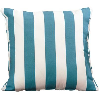 Outdoor Throw Pillow Color: Finnigan Peacock, Height: 22, Width: 22