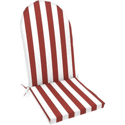 Knife Edge Outdoor Adirondack Chair Cushion